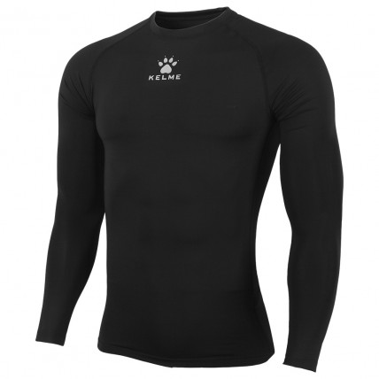 Термобелье футболка черная д/р TEAM K15Z705.9000