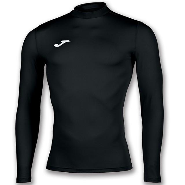 Термобілизна футболка д/р чорна  BRAMA ACADEMY101018.100