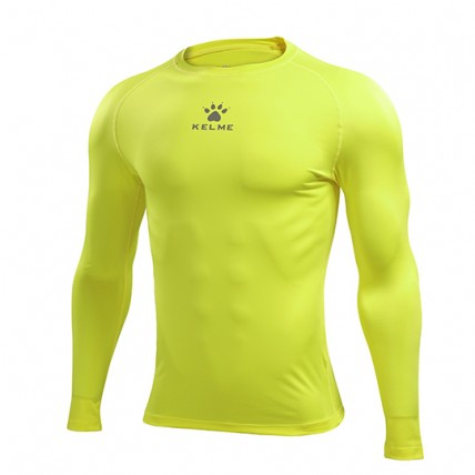 Термобелье футболка cсалатовая д/р TEAM K15Z705.9905