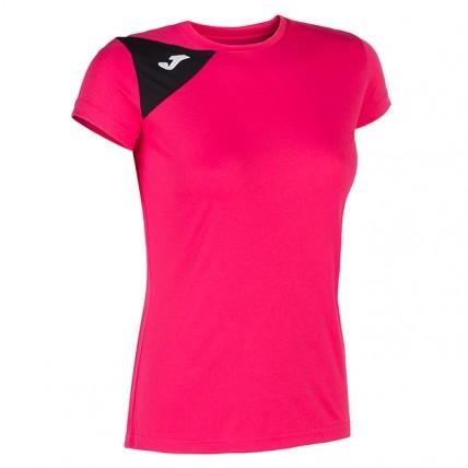 Футболка малиново-черная женская SPIKE II 900868.501
