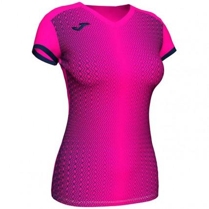 Футболка розово-т.синяя женская SUPERNOVA 900890.033