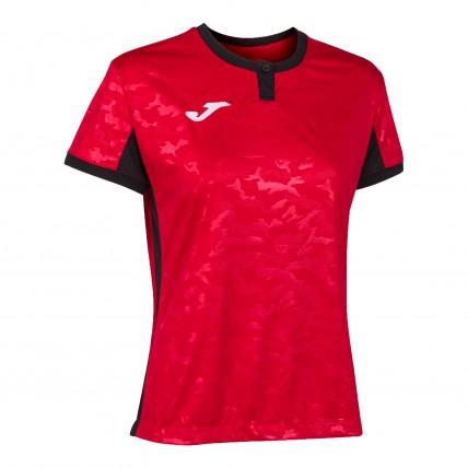 Футболка красно-черная женская TOLETUM II 901045.601