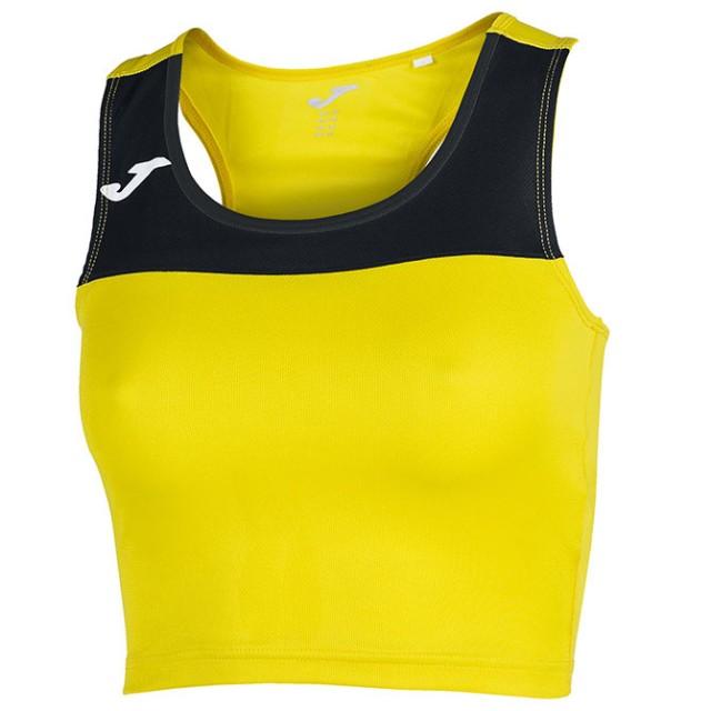 Майка-топ желто-черная женская RACE 900758.901