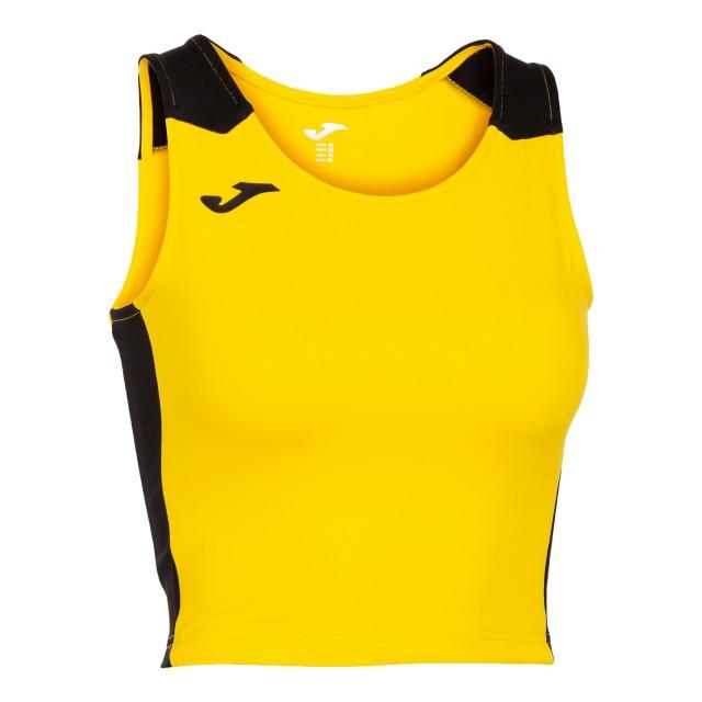 Майка-топ желто-черная  женская RECORD II 901397.901