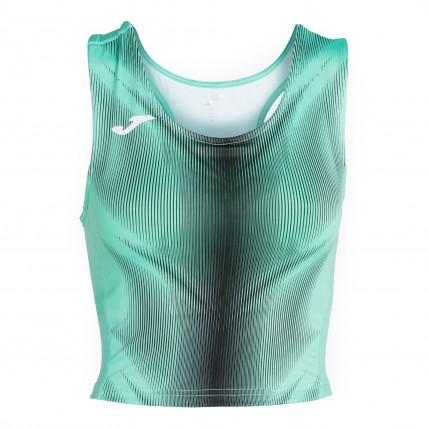 Топ зелено-черный женский OLIMPIA 900935.401