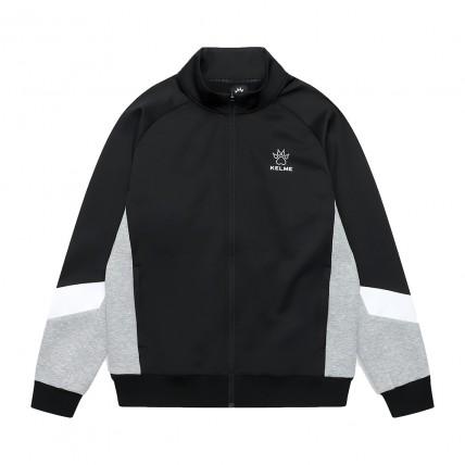 Олімпійка knitted jacket черно-серая 8061WT1007.9015