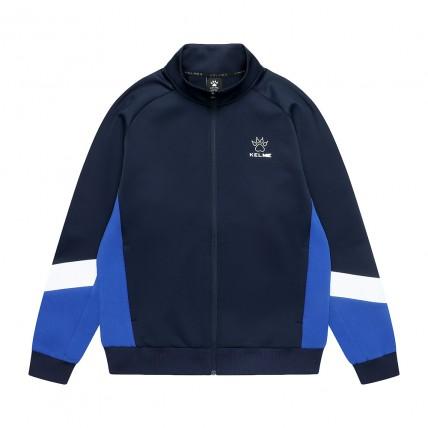 Олимпийка knitted jacket т.сине-синяя 8061WT1007.9428
