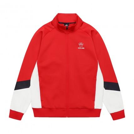 Олимпийка knitted jacket красно-белая 8061WT1007.9610