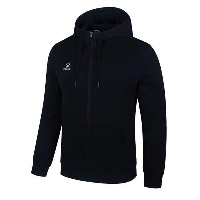 Олимпийка с капюшоном черная KELME HOODIE 3881313.9000