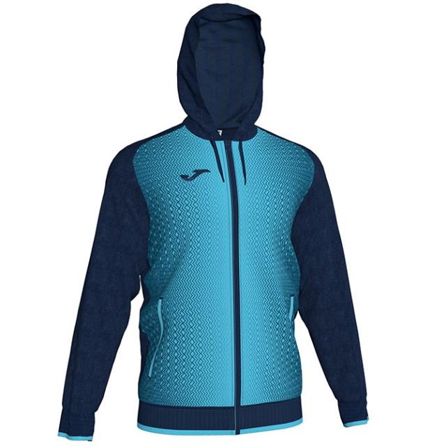 Олимпийка т.сине-бирюзовая с капюшоном SUPERNOVA 101285.342