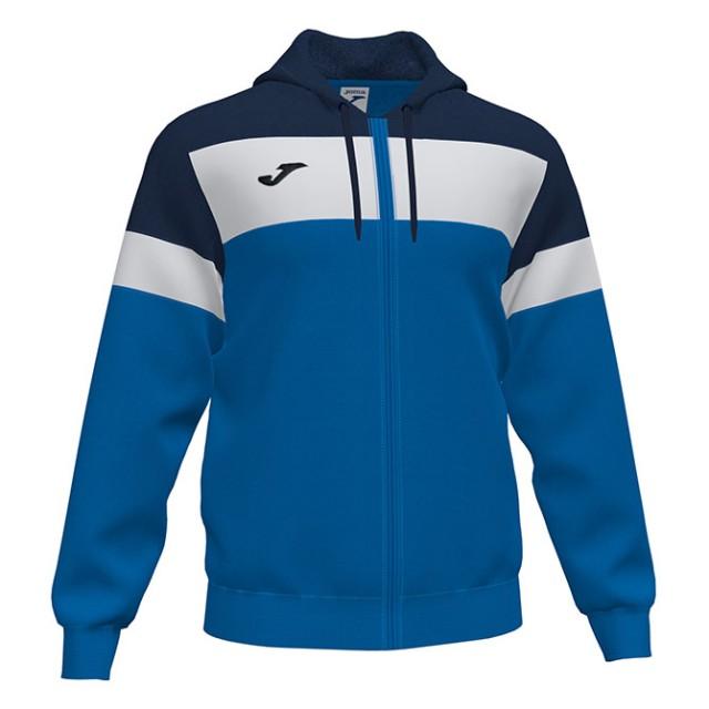 Олимпийка с капюшоном сине-т.синий CREW IV 101537.703