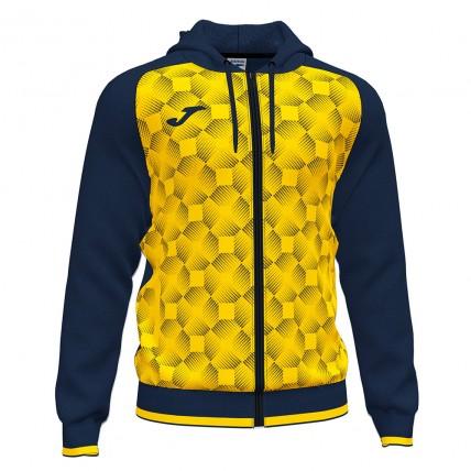 Олимпийка с капюшоном т.сине-желтая SUPERNOVA III 102262.339