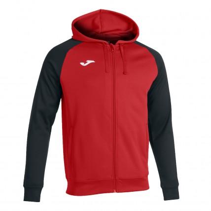 Олимпийка с капюшоном красно-черная ACADEMY IV 101967.601
