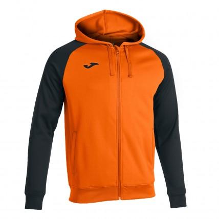 Олимпийка с капюшоном оранжево-черная ACADEMY IV 101967.881