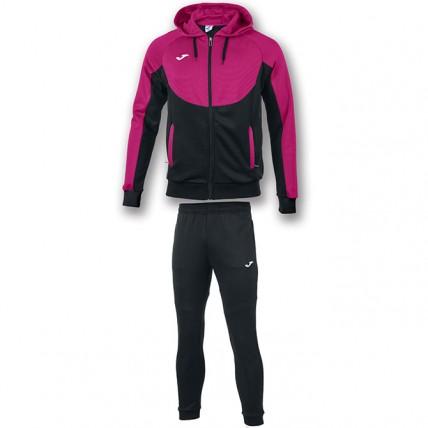 Спортивный костюм черно-розовый с капюшоном ESSENTIAL 101019.105