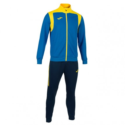 Спортивный костюм сине-желтый CHAMPION V 101267.709