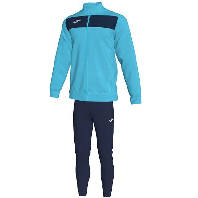 Спортивный костюм бирюзово-т.синий ACADEMY II 101352.013