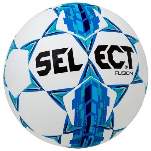 Мяч SELECT Fusion (IMS APPROVED), 5 бело-синий 085500 б/с/5
