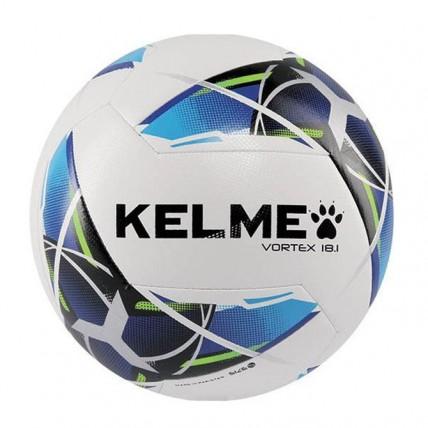 Мяч футбольный бело-голубой VORTEX 9886128.9113