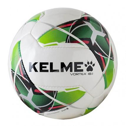 Мяч футбольный бело-салатовый VORTEX 9886128.9127