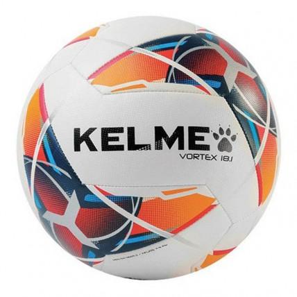 Мяч футбольный красно-синий VORTEX 9886128.9423