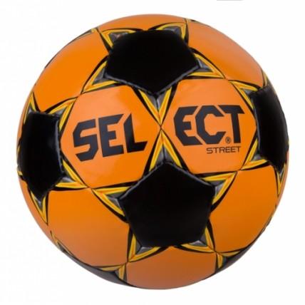 Мяч SELECT Street, 5  оранжево-черный 388582