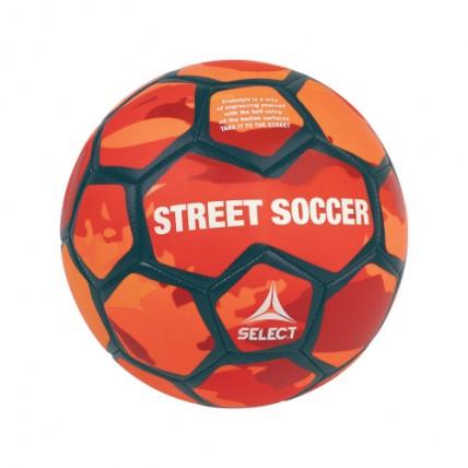 Мяч SELECT STREET SOCCER NEW,  4,5  оранжево-голубой 095521 п/з