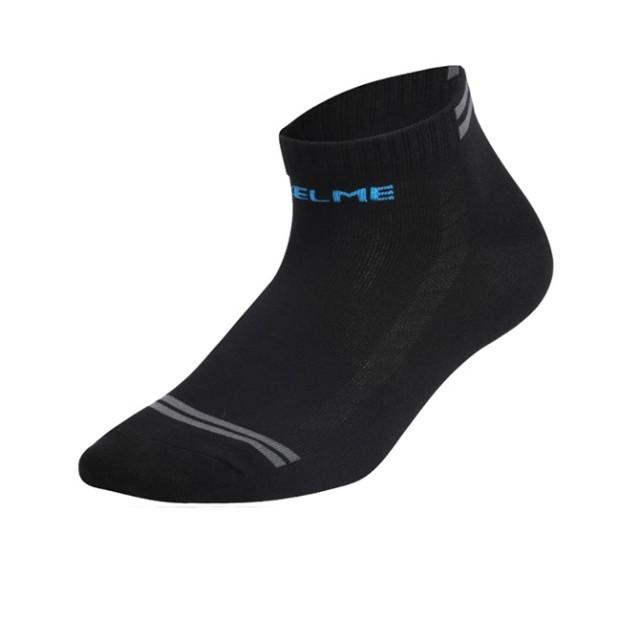 Носки черно-голубые FLAT 9876307.9059