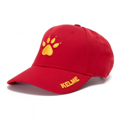 Бейсболка KELME красная 9876501.9600