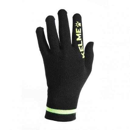 Тренировочные перчатки черно-желтые ROAD 9881406.9010