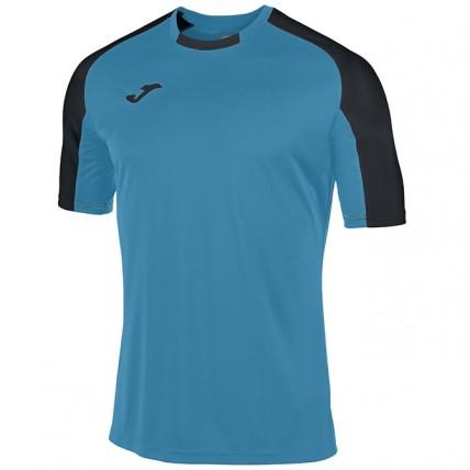Футболка бирюзово-черная к/р ESSENTIAL 101105.011