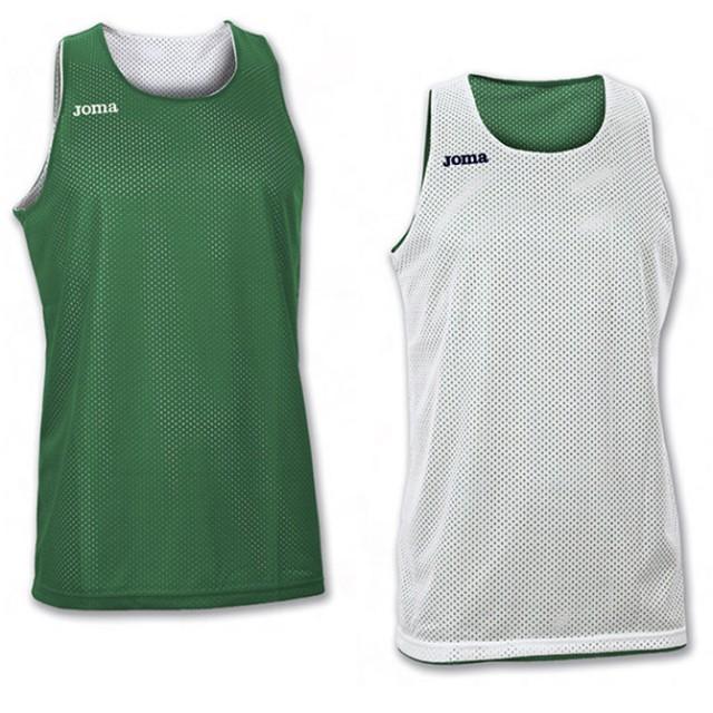 Майка зелено-белая (баскетбол) ARO 100050.450
