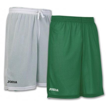 Шорты баскетбольные зелено-белые ROOKIE 100529.450