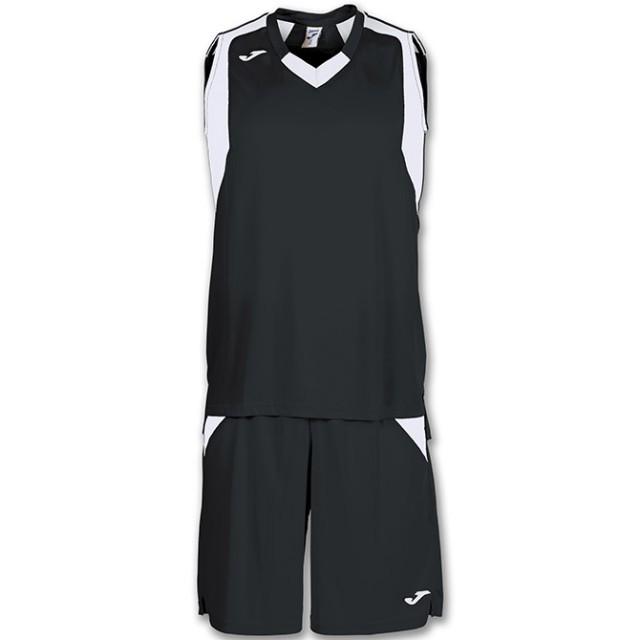 Комплект баскетбольной формы черно-белый б/р FINAL 101115.102