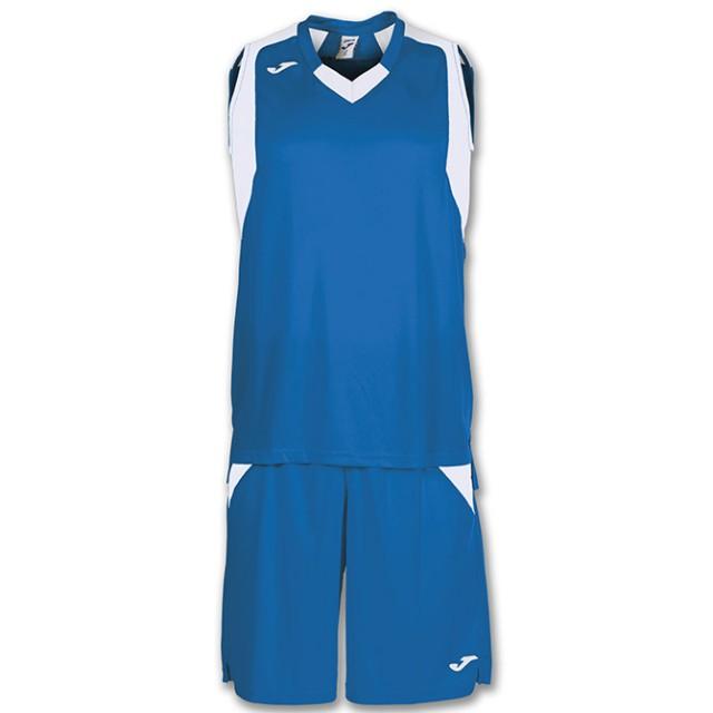 Комплект баскетбольной формы сине-белый б/р FINAL 101115.702