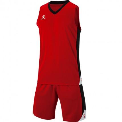 Комплект баскетбольной формы UTAH красный 3801292.9600