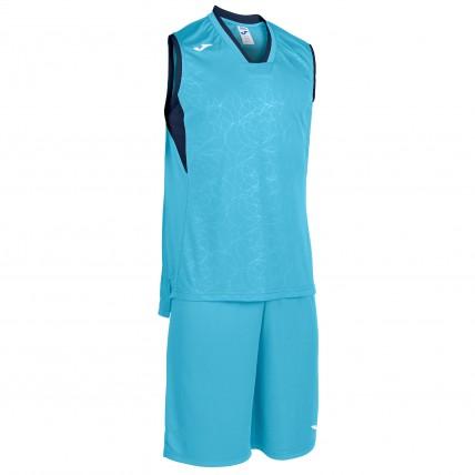 Комплект баскетбольной формы бирюзово-т.синий CAMPUS 101373.013