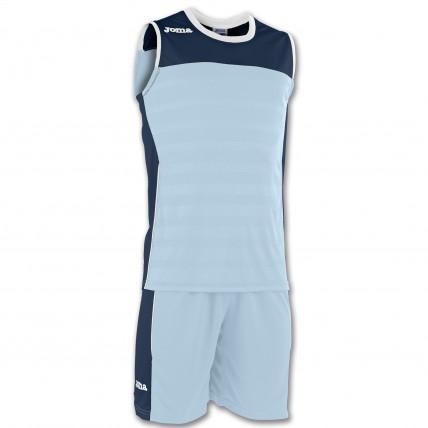 Форма голубо-т.синяя SPACE II (баскетбол) 100692.353
