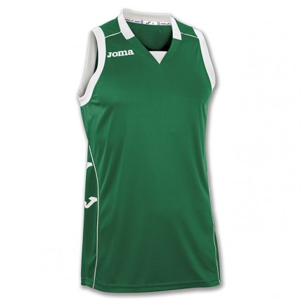 Майка зеленая баскетбольная CANCHA II 100049.450