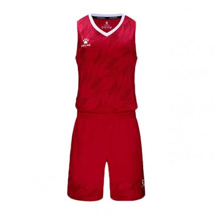 Комплект баскетбольной формы красный BRUKLIN 3591052.9600