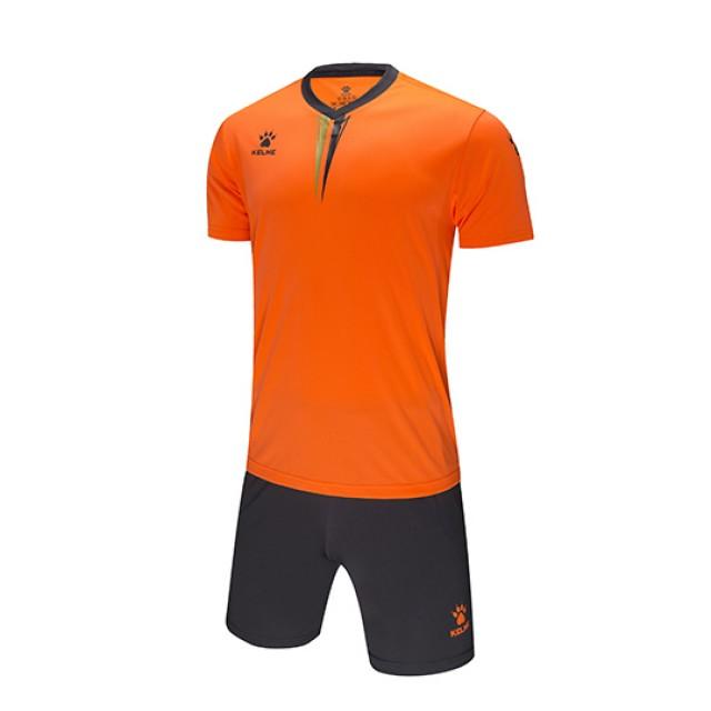 Комплект футбольной формы VALENCIA оранжево-серый к/р 3891047.9999