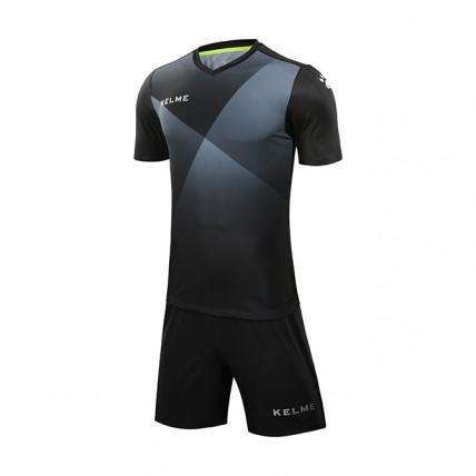 Комплект футбольной формы черно-белый к/р LIGA 3981509.9055