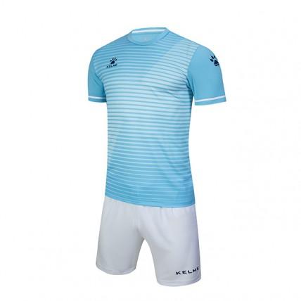 Комплект детской футбольной формы MALAGA (JR) голубовато-белый 3803169.9449