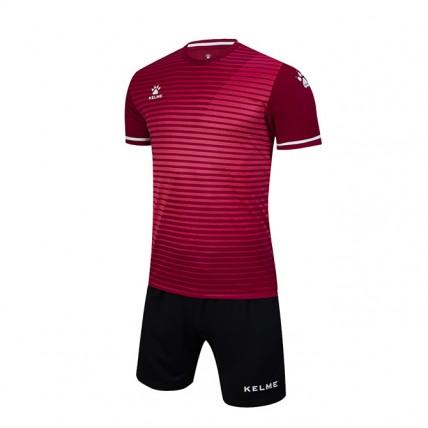 Комплект детской футбольной формы MALAGA (JR) бордово-черный 3803169.9691