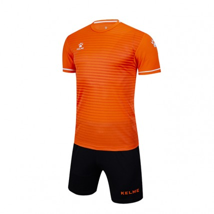 Комплект детской футбольной формы MALAGA (JR) оранжево-черный 3803169.9910