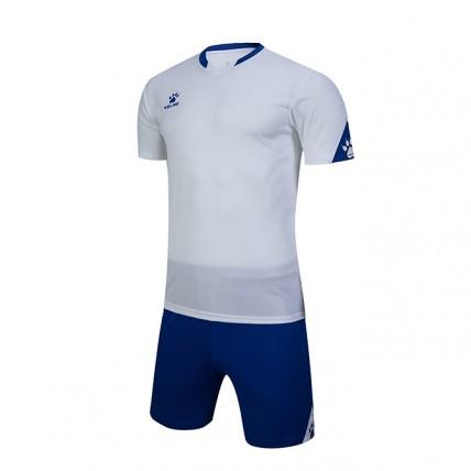Комплект детской футбольной формы GIRONA (JR) бело-синий 3803099.9104