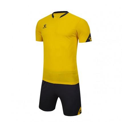Комплект детской футбольной формы GIRONA (JR) желто-т.серый 3803099.9737