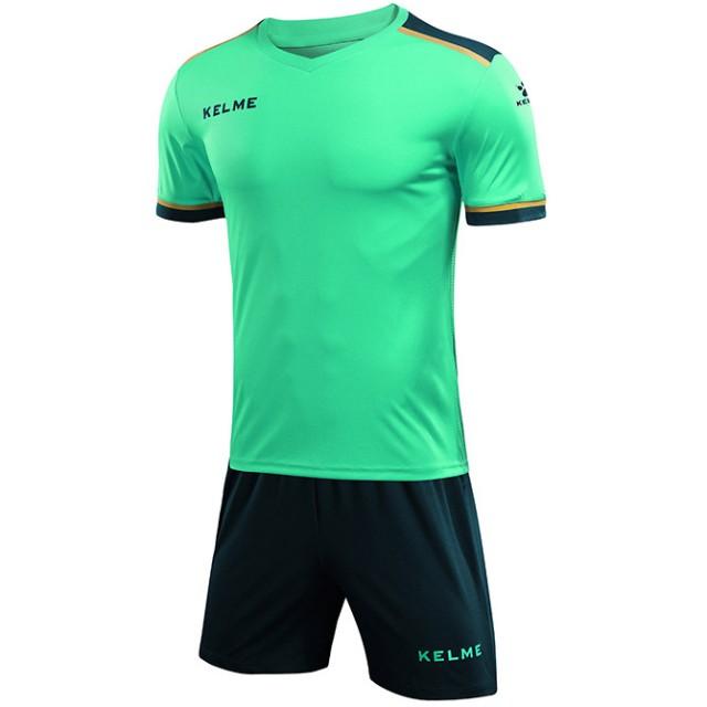 Комплект футбольной формы мятно-зеленый детский SEGOVIA (JR) 3873001.9328