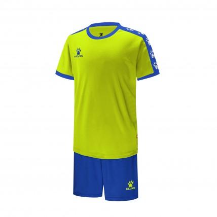 Комплект детской футбольной формы COLLEGUE салатово-синій 3883033.9915