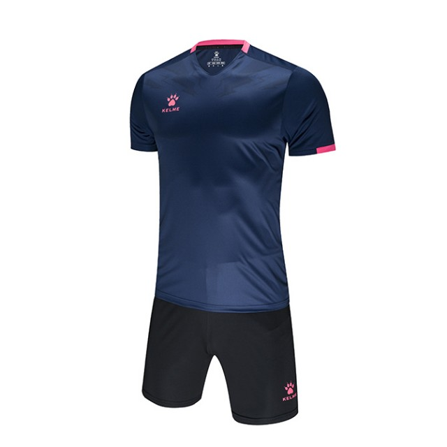 Комплект футбольной формы FLASH т.сине-розовый 3891049.9420